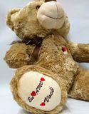 urso de pelúcia 50 cm sentado