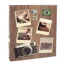 Álbum de Fotos 200 Fotos 10x15 R Viagem 586
