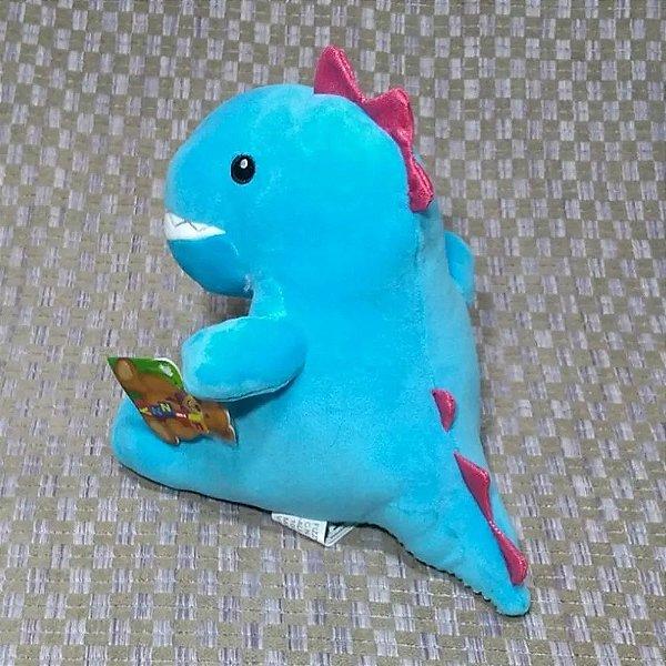 Lindo Dinossauro de Pelucia Fizzy Toys Tiranossauro