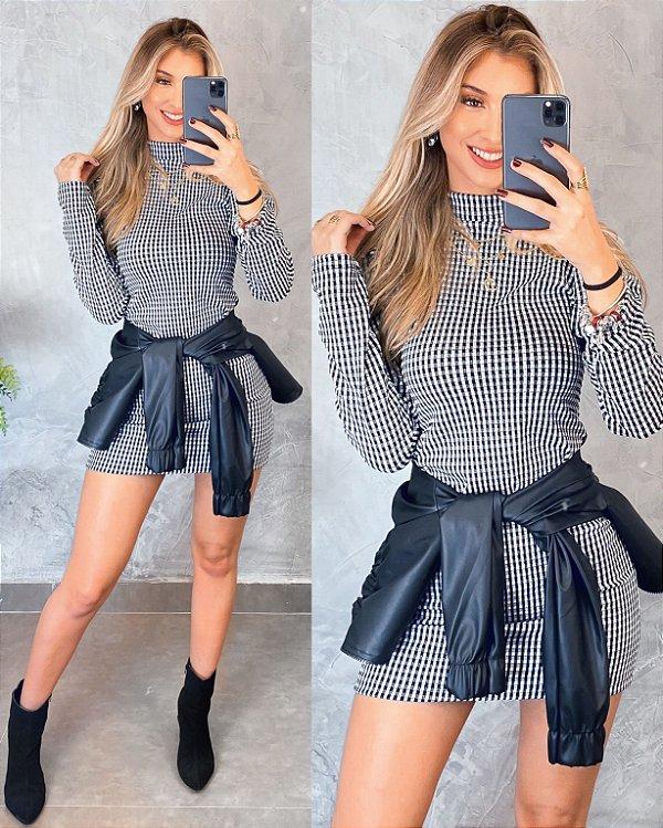 Vestido P&B