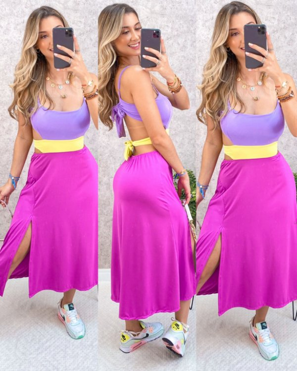 Vestido Khalifa Color