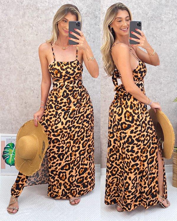 Vestido Khalifa Animal Print