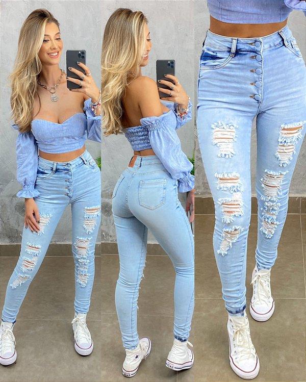 Calçar Carmem Jeans
