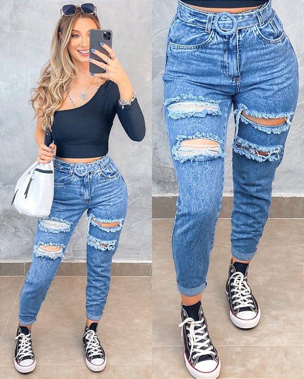 Calça Circle Jeans