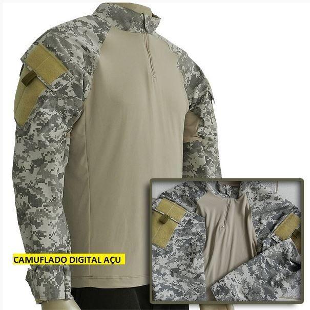 Combat Shirt - Camuflado ACU