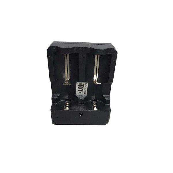 Carregador para 2 Baterias HWD (Modelo 26650-18650-14500)