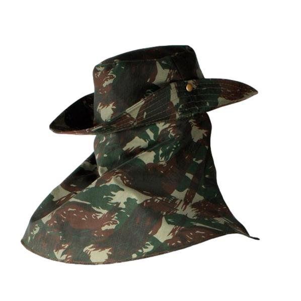 Chapéu Camuflado Com Saia (Tamanho Único)