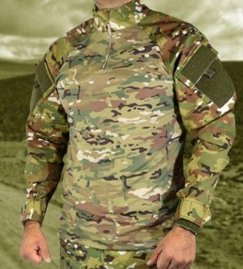 Combat Shirt Full Multican