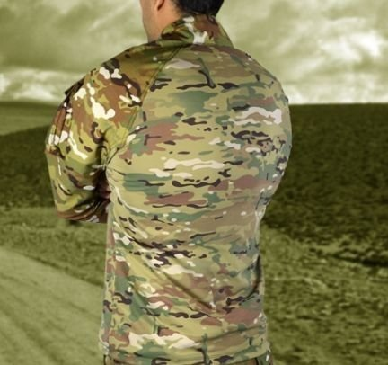 Combat Shirt Full Multican