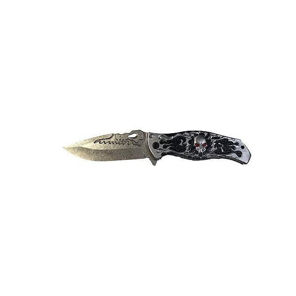 Canivete Tático HZ 0315 Caveira