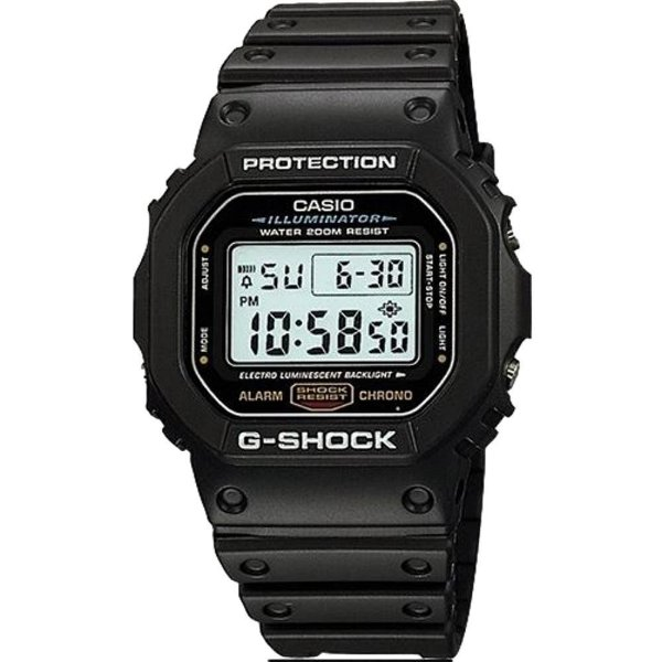 Relógio Cásio G-SHOCK DW-5600E-1VDF (3229)