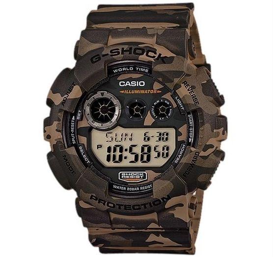 Relógio Casio G-SHOCK Camuflado  GD-120CM-5DR