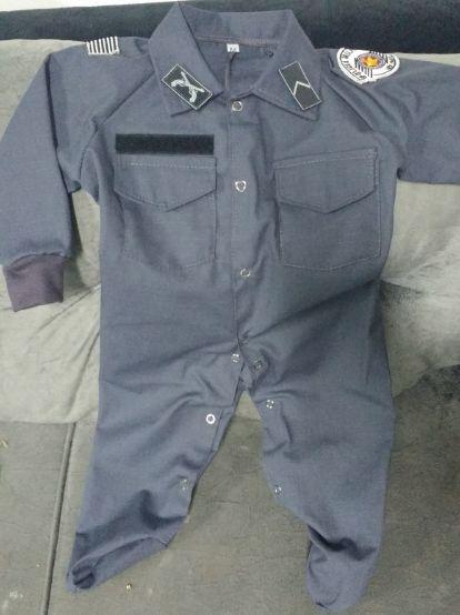Macacão Infantil Polícia Militar SP (Rip Stop)