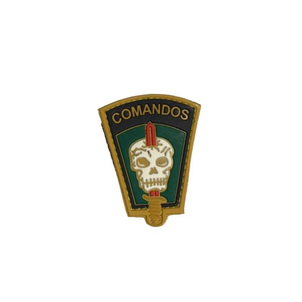 Brevê (Distintivo) Emborrachado Comandos Colorido