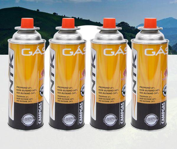 Cartucho Nautika de Gás Campgás (4 peças)