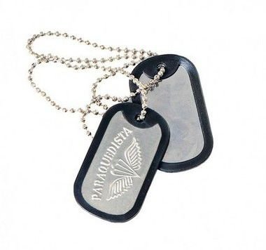 Dog Tag - Paraquedista