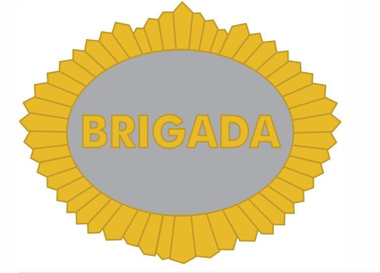 Distintivo metálico Sargento Brigada
