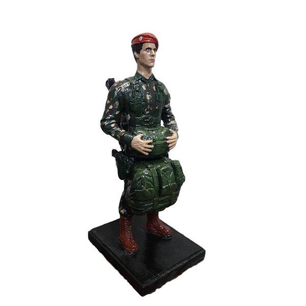 Boneco Paraquedista Exército Brasileiro (PQD)