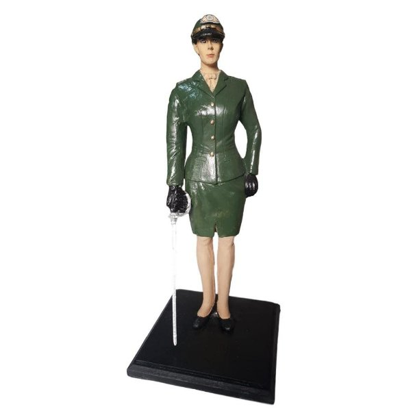 Boneco Oficial do Exército Brasileiro (Feminino)