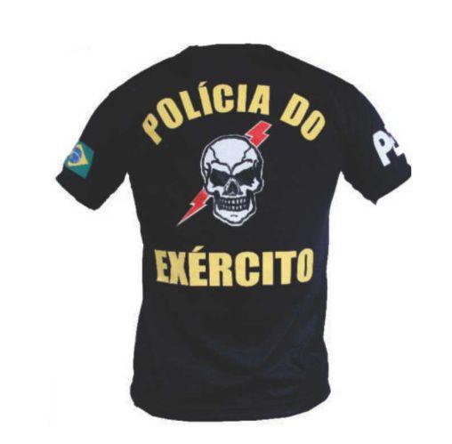 Camiseta  Polícia do Exército Caveira