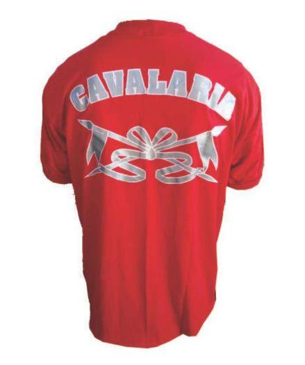 Camiseta Vermelha Cavalaria
