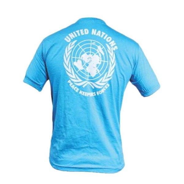Camiseta Azul Nações Unidas - ONU