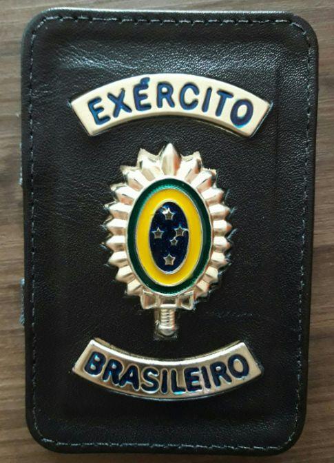 Porta Documentos Exército Brasileiro Couro - Mágico