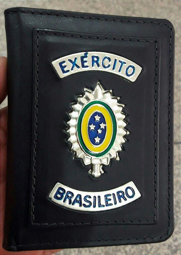 Porta Documentos Exército Brasileiro Couro (Carteira)