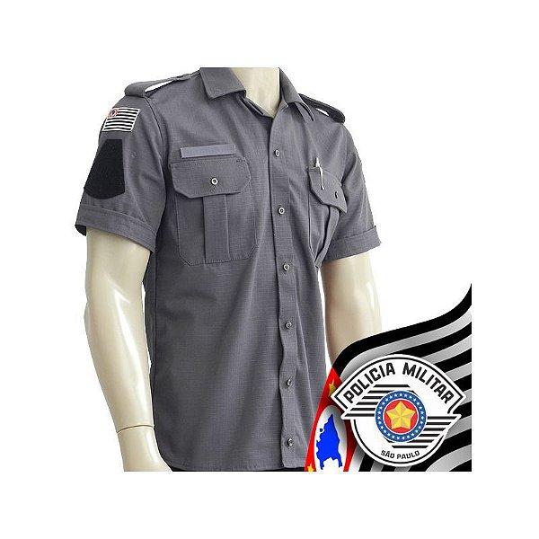 Camisa Uniforme B4 Policia Militar do São Paulo