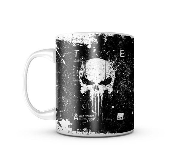 Caneca Punisher (Caveira)