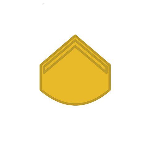 Divisa de Gola Metal EB Soldado (Unidade)