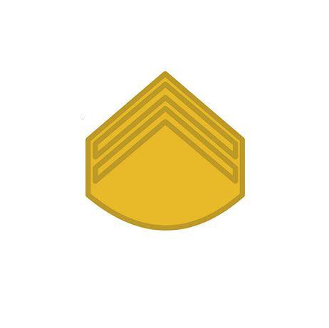 Divisa de Gola Metal Cabo (Unidade)
