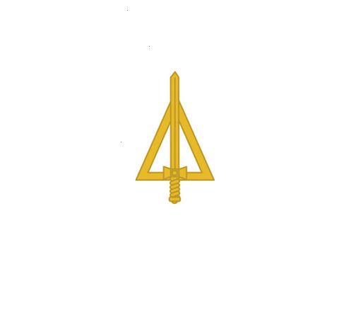 Distintivo de Metal Oficial QCO (Unidade)