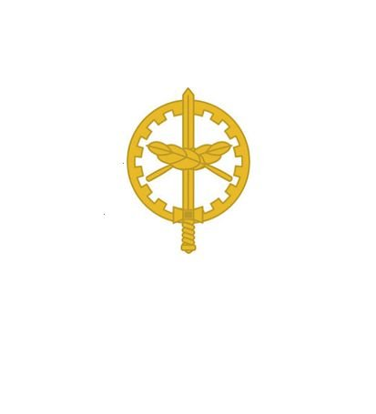 Distintivo de Metal Oficial QAO (Unidade)