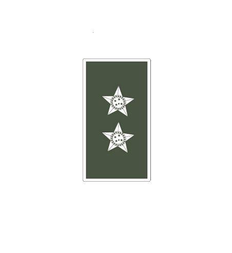Divisa de Gola 1° Tenente (Emborrachado)