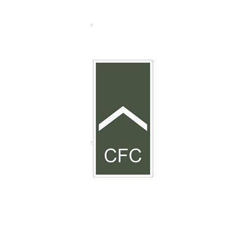 Distintivo de Soldado CFC (Emborrachado)