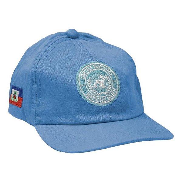 Boné Bordado Força de Paz ONU (Haiti)