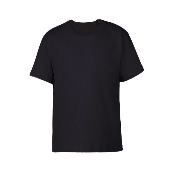 Camiseta Preta Lisa (Manga curta)