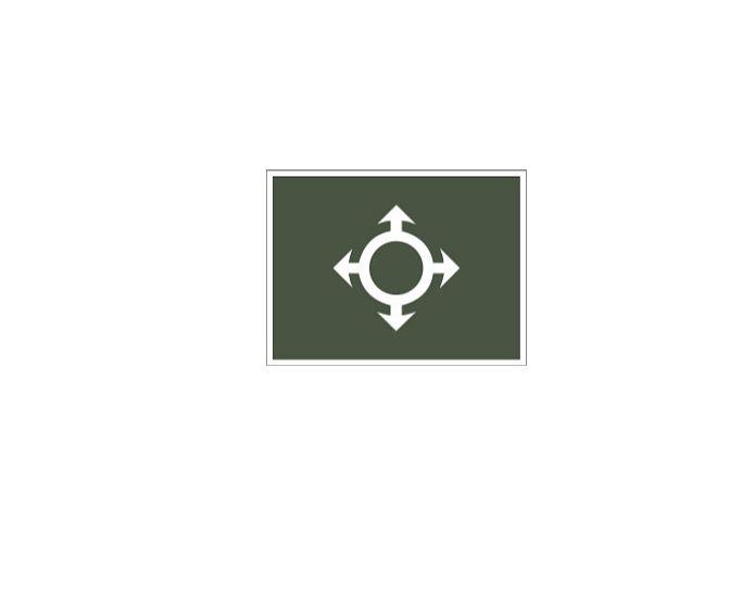 Distintivo de Comunicações (Emborrachado)