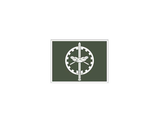 Divisa de Gola Oficial QAO (Emborrachado)