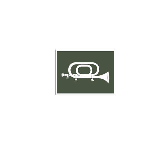 Distintivo de Corneteiro (Emborrachado)