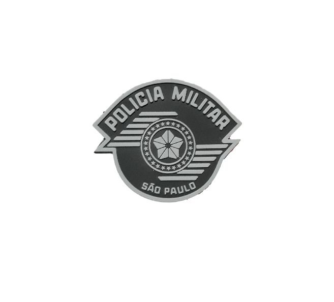 Símbolo da Polícia Militar São Paulo (Emborrachado)