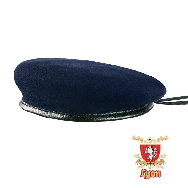Boina Lyon Azul Ferrete - Toca Militar  1095262621f