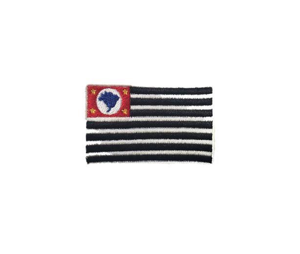 Bandeira São Paulo Polícia Militar (Bordada)