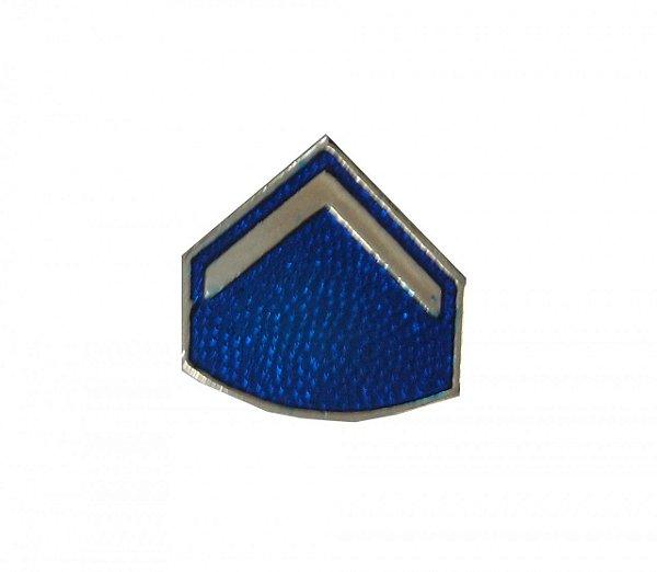 Divisa de Casquete/Bibico Metal PM Soldado (Unidade)