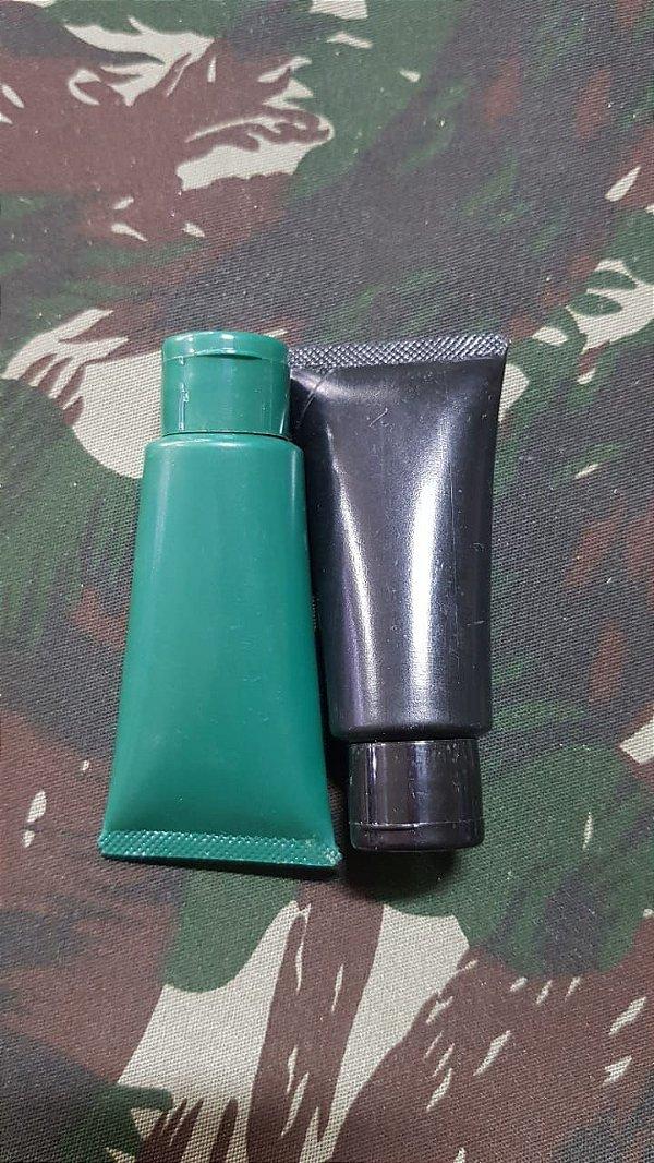 Bisnaga de Camuflagem 3 Cores (Preto, Verde e Marrom)