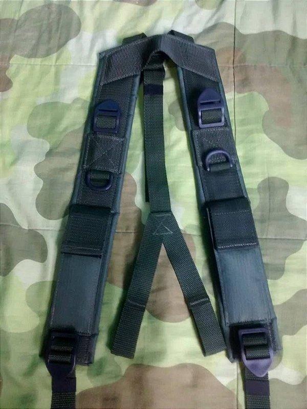 Suspensório sem bolsos VO (Velcro)
