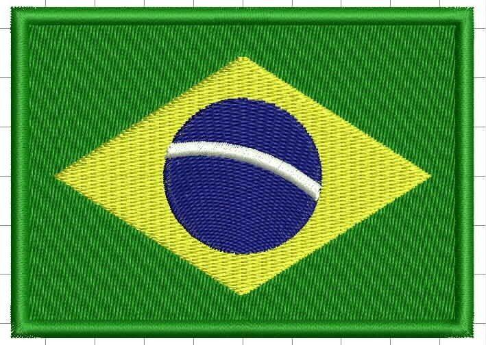 Bandeira do Brasil (Bordado)