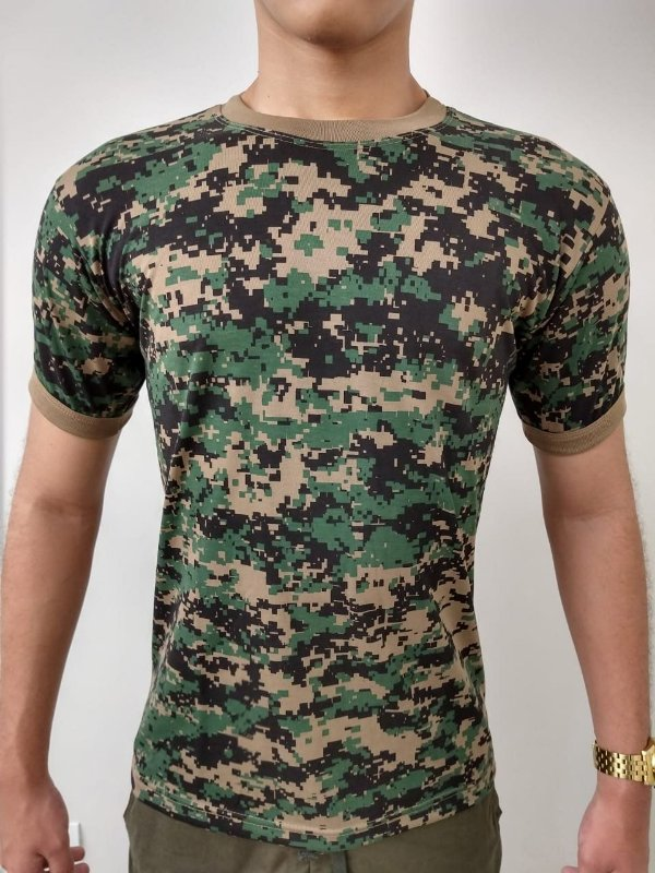 Camiseta Camuflada Digital Marpet