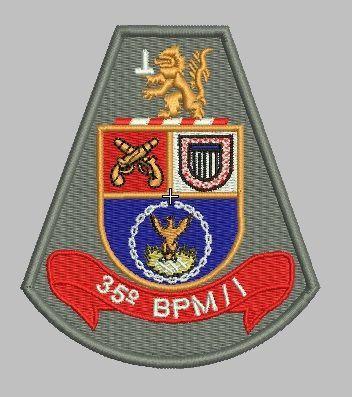 Brasão de Braço 35° BPM II